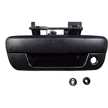 GMC Canyon 2004, 2006, 2007, 2008, 2009, 2010, 2011, 2012 Isuzu Truck GM1915118 Replacement Rear Textured Tailgate Handle for Chevrolet Colorado Dependable Direct