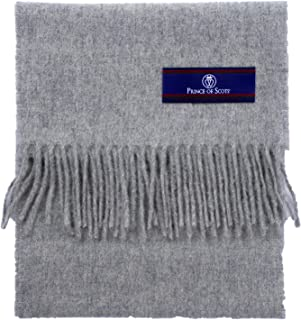 Prince of Scots Fringed Merino Wool Scarf