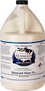 All American Car Care Products Diamond Shine II - Premium All in One Clean, Seal, Glaze and Protecting Automotive Wax (1Ga...