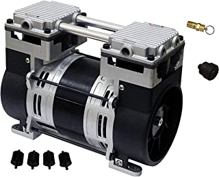 HALF OFF PONDS Patriot Pond Pro 6.7 Cubic Feet per Minute Deep Water Subsurface Air & Aeration Rocking Piston Air Compressor for Deep Water Subsurface Aeration of Ponds and Lakes