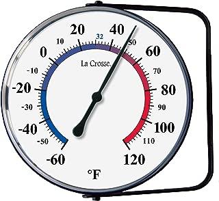 La Crosse Technology 104-105 La Crosse 5 Inch Hanging Bracket Analog Thermometer