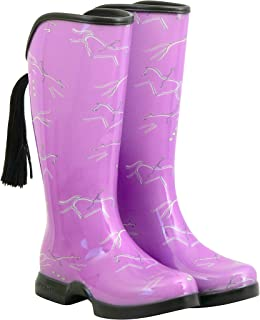 Eventer Lilac - Waterproof Equestrian Rain Boots