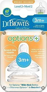 Dr Brown's Options + Level 2 Teats