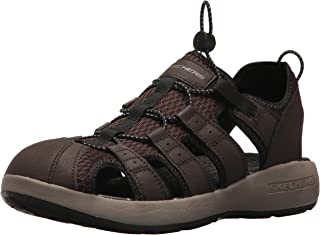 Skechers Men's Melbo Journeyman 2 Closed Toe Sandals