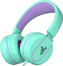 ARTIX Foldable On-Ear Adjustable Tangle-Free Wired...