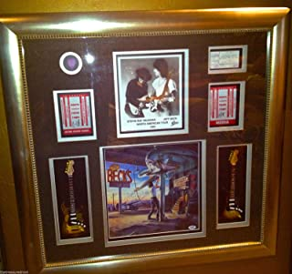 stevie ray vaughan signed memorabilia