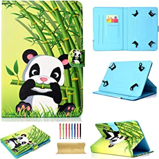 Uliking Universal Case for 7-8 inch Tablet, Synthetic Leather Folio Stand Protective Cover with Card Slots Magnetic Shell for All 7.5