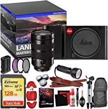 Leica TL Mirrorless Digital Camera (Black) - Master Landscape Photographer Kit - Memory Card - Accessories with Leica SL 24-90mm f/2.8-4 ASPH. Lens (11176)
