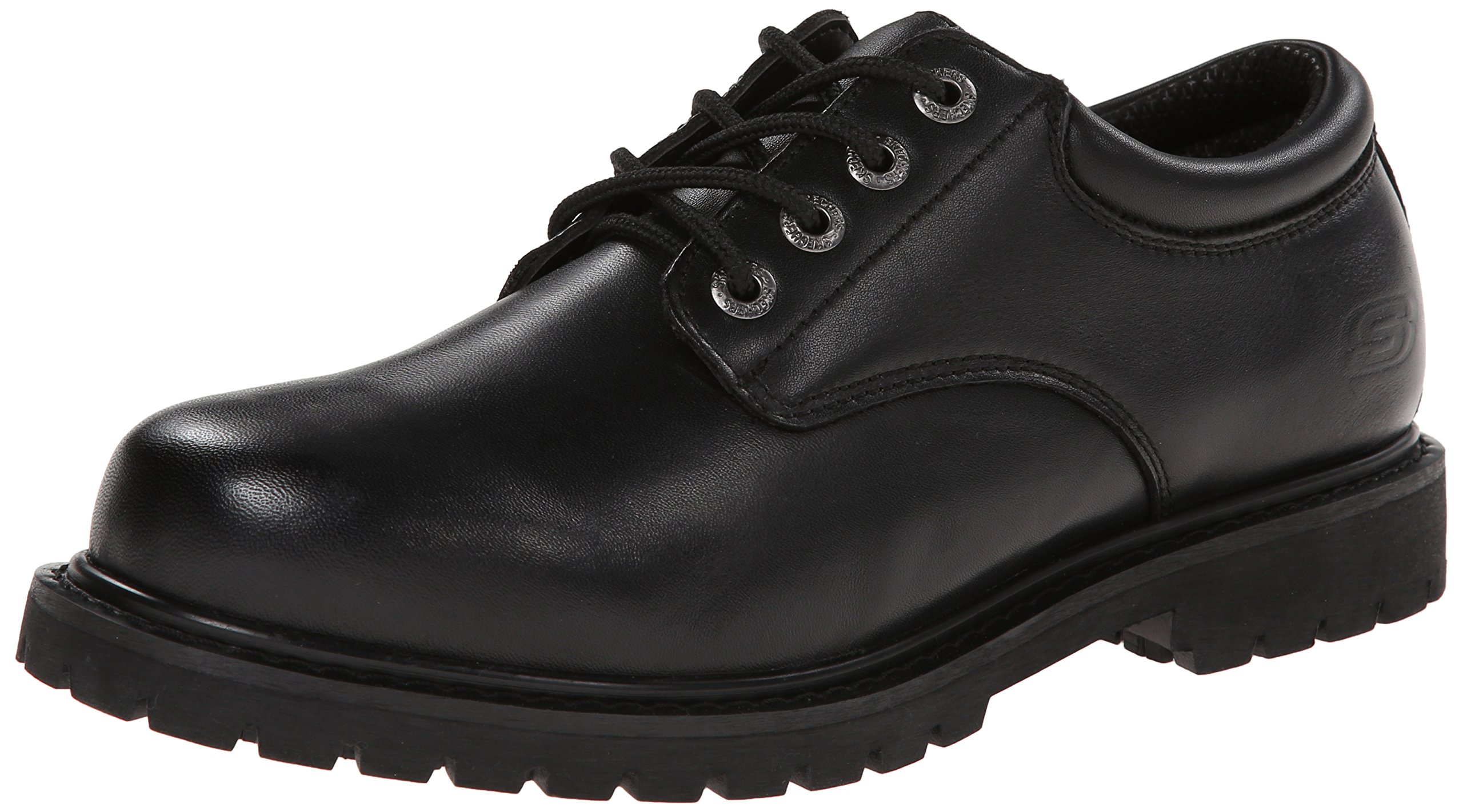 Skechers Mens Cottonwood Elks Black 10 5