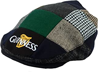 e2ee2792c00f Eligible for FREE Delivery. Guinness Official Merchandise Harp Embroidered Flat  Cap Men s Hat