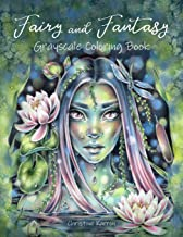 Fairy and Fantasy Grayscale Coloring Book