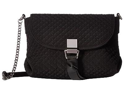 Vera Bradley Carson RFID Mini Crossbody (Classic Black) Cross Body Handbags