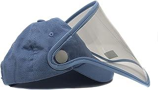 Careta Protección Gorra 100% algodón Azul Para BEBÉ 45 a 51 cm perímetro