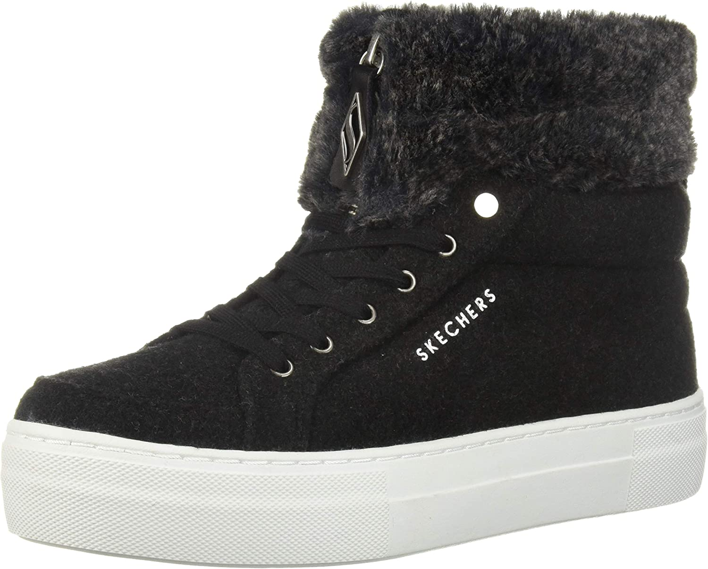 Skechers Selling rankings Women's Alba-Fuzzy Sneaker Arlington Mall Topers