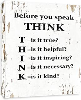 Best think before you speak quotes Reviews