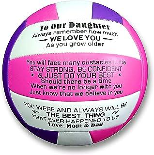 Uloveido Indoor Outdoor Sports Balls to My Daughter Volleyball for Girls Women Y605