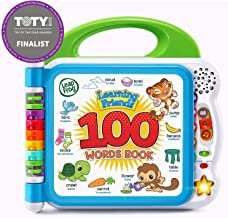 LeapFrog Learning Friends 100 Words Book (Frustration Free Packaging), Green (Renewed)