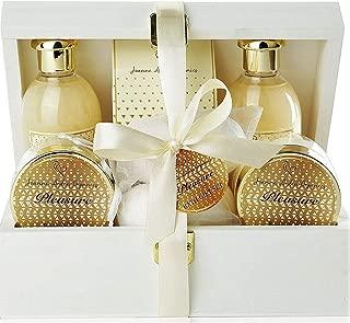 Premium Bath & Body Gift Basket.Luxury Spa Basket with Bath Bombs, Bed Bath & Body Works Wonders! PLEASURES #1 Spa Gift Basket for Women, & Teens! …