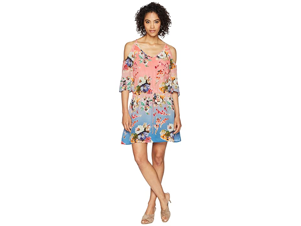 Tolani Adrienne Tunic Dress (Peony) Women