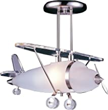 Elk 5051/1 1-Light Biplane Shape Pendant in Satin Nickel