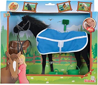 Simba Champion Beauty Horse with Accessories Toy, Black