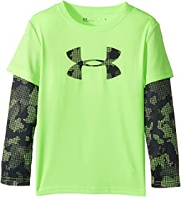 Under Armour Kids - Utility Camo Big Logo Slider (Little Kids/Big Kids)