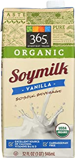 365 Everyday Value, Organic Soy Milk, Vanilla Flavor, 32 fl oz