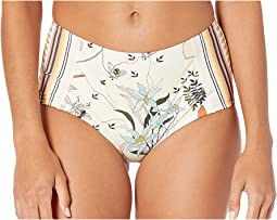 Printed High-Waisted Bottoms