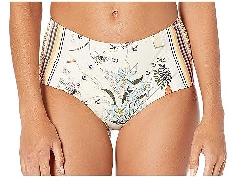 Tory Burch Swimwear Printed High-Waisted Bottoms