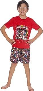 Power Ranger Boys Little Hero Pajama Short Set