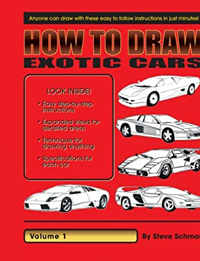 How to Draw Exotic Cars: Volume 1