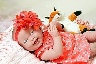 Baby Doll Girl Smiling Look Real Realistic Full Body Life Like Reborn Cute Soft Vinyl Children Gift