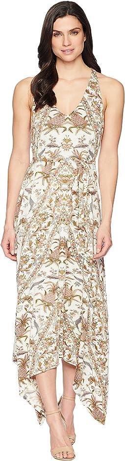 Lucky Brand V-Neck Maxi Dress