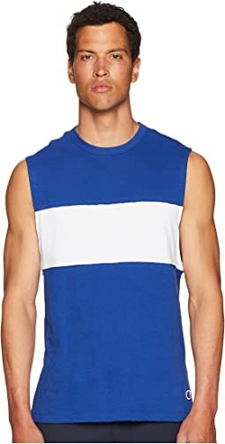 Color Block Muscle Tee