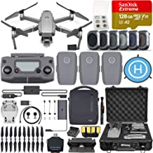 $1879 » DJI Mavic 2 Pro Drone Quadcopter with Hasselblad Camera, Fly More Combo, 3 Batteries, 6 Piece Filter Kit, SanDisk Extreme 128gb Memory Card, Aluminum Shock Proof Case, More
