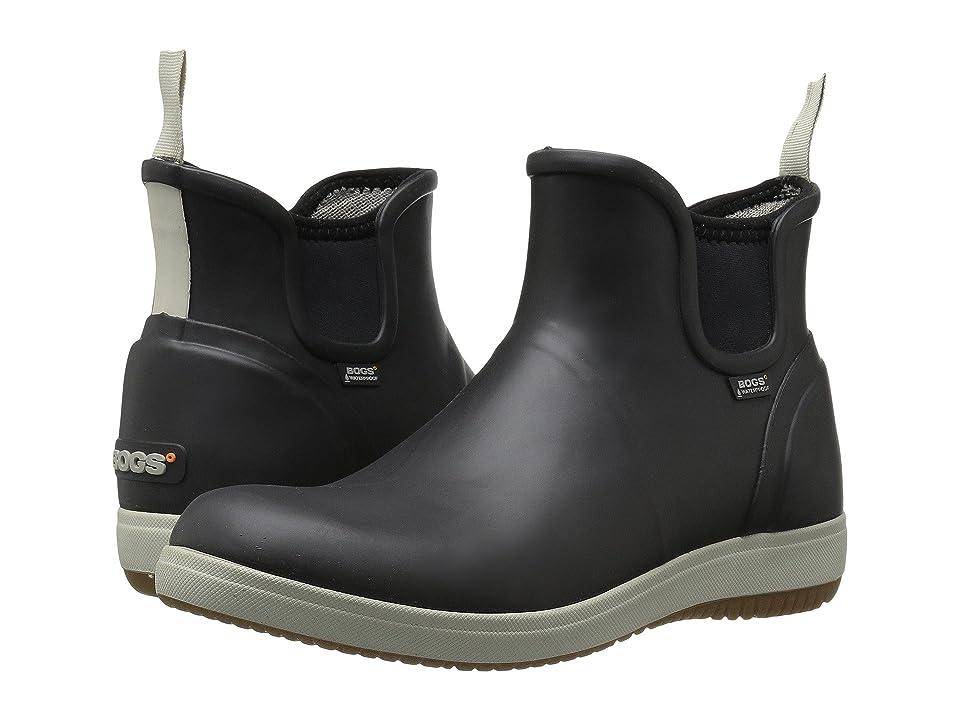 Bogs Quinn Slip-On Boot (Black) Women