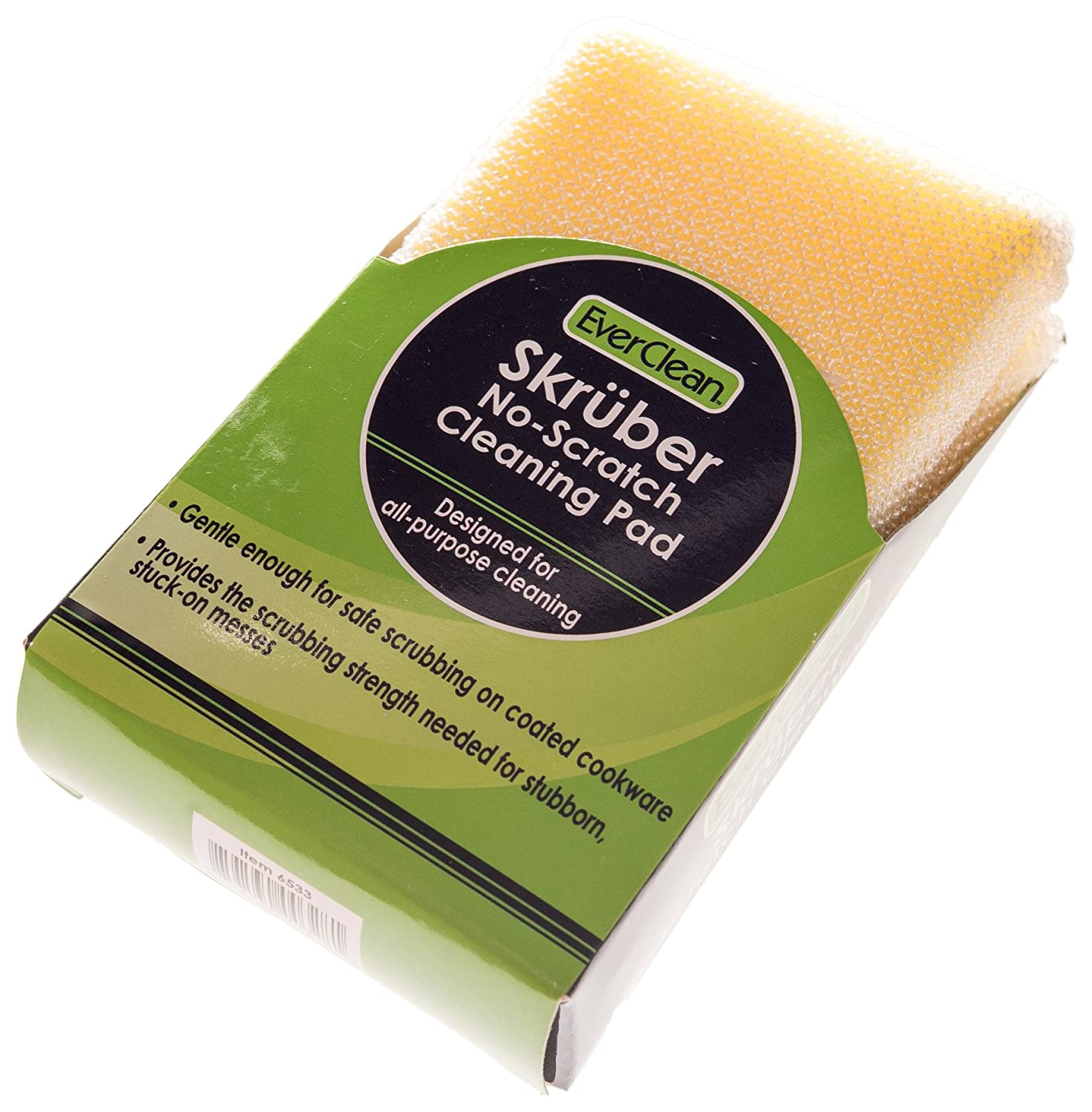 EverClean 6533 Skruber Non-Scratch Cleaning Pads 4.75 0.6 x 3 New product type All items in the store