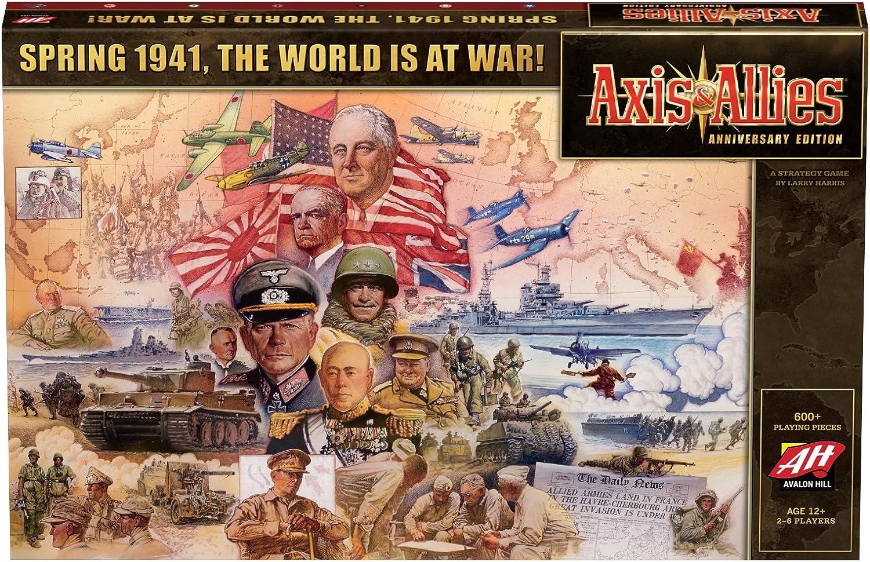 Avalon Hill   Wizards of the Coast C39720000 Axis und Allies Anniversary Edition - Englisch, Spiel B0734BWNV9 Großhandel     | Ausgezeichnet