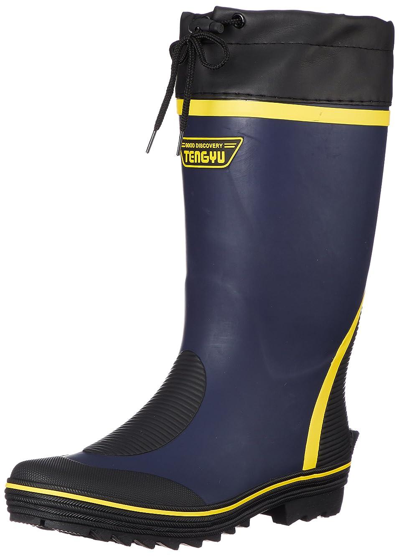 グロー指令社会[フジテブクロ] 長靴 作業靴 レインブーツ カラーブーツ カバー付 3E 799 メンズ