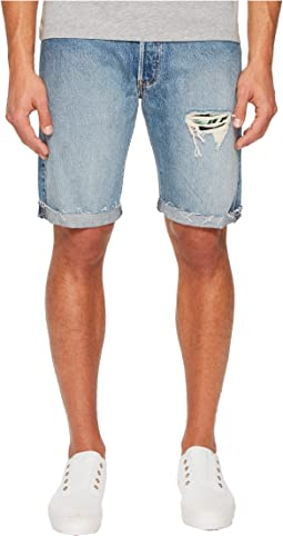 Levi's® Premium - Premium 501 Straight Fit Cut Off Shorts