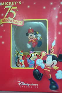 Marching Mickey Mouse Snowglobe 75th Anniversary