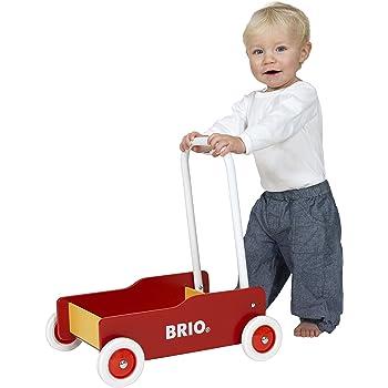 BRIO (ブリオ) 手押し車 レッド [ 木製 おもちゃ ] 31350