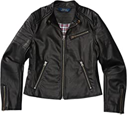 Vegan Leather Jacket (Toddler)