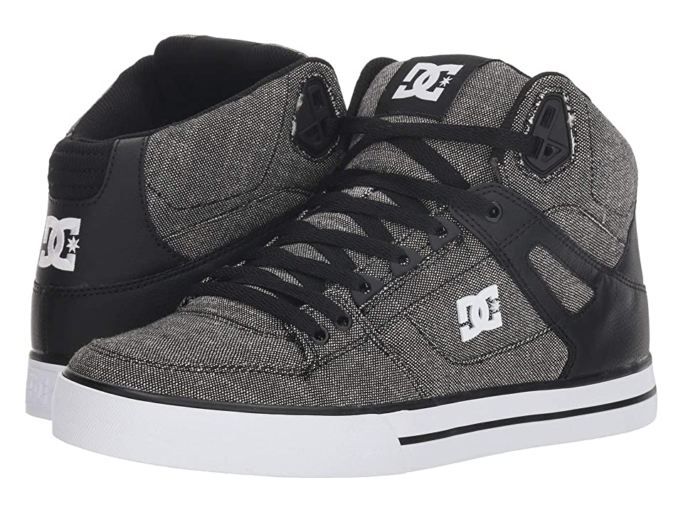 DC Pure High-Top WC TX SE (Black/Grey/White) Men