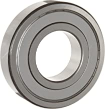 WJB 6309-ZZ Deep Groove Ball Bearing, Double Sheilded, Metric, 45mm ID, 100mm OD, 25mm Width, 11900lbf Dynamic Load Capacity, 7200lbf Static Load Capacity
