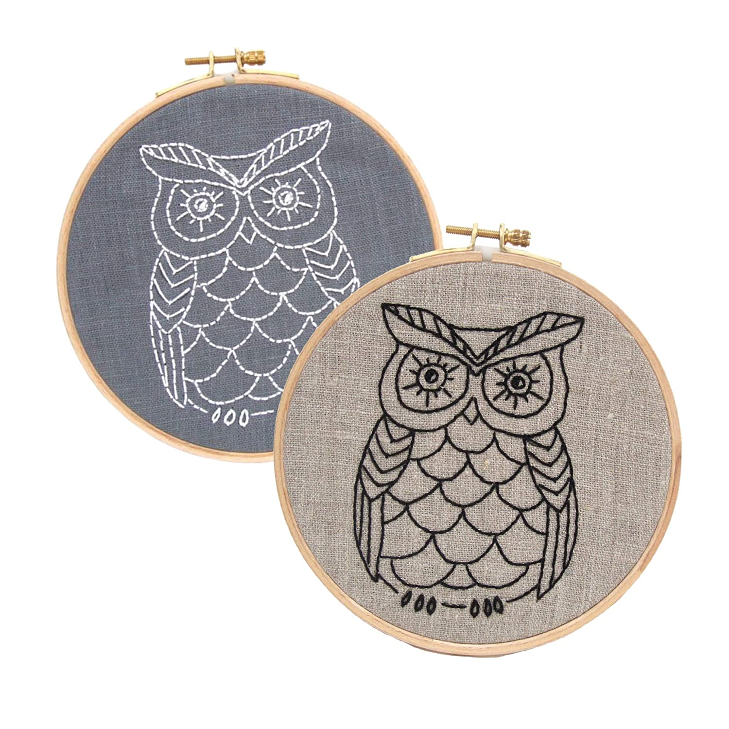 Owl Embroidery Kit Max 50% OFF Special sale item