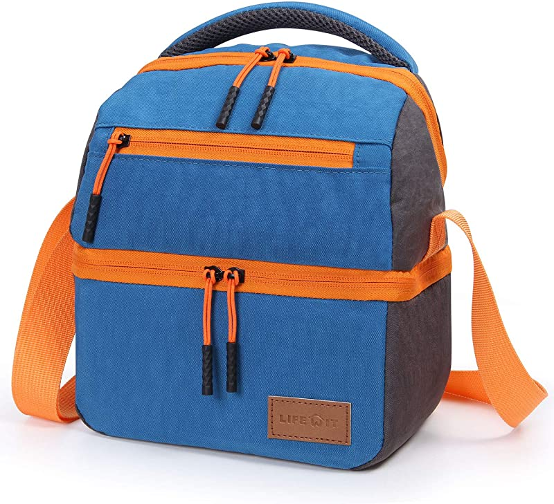 Lifewit Insulated Lunch Bag Lunch Box With Shoulder Strap For Adults 5L