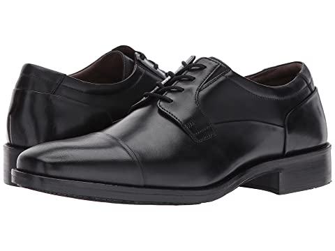 Full amp; Full Johnston Black Dress Toe Cap GrainTan Murphy Grain Lancaster Oxford vWnqwOqgd6