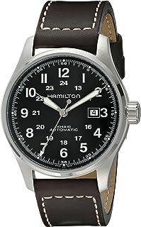 Hamilton - Reloj Analogico para Hombre de Automático con Correa en Cuero H70625533