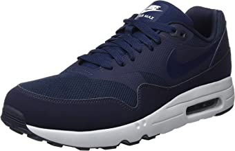 Nike Men's Air Max 1 Ultra 2.0 Essential Blue Textile Running Shoe 10